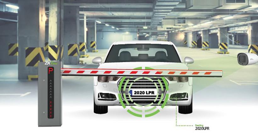 Новая камера ZK-LPR Car ID для распознавания автомобильных номеров